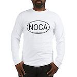 NOCA Northern Cardinal Alpha Code Long Sleeve T-Sh