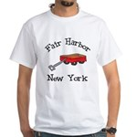 Red Wagon Fair Harbor White T-Shirt
