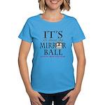 DWTS Mirror Ball Women's Dark T-Shirt