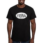 YERA Yellow Rail Alpha Code Men's Fitted T-Shirt (