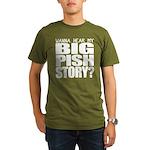 Big Pish Story Organic Men's T-Shirt (dark)