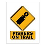 Pishers on Trail Small Poster