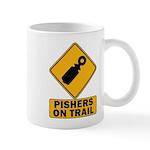 Pishers on Trail Mug