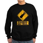 Pishers on Trail Sweatshirt (dark)