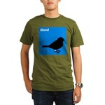iBand (blue) Organic Men's T-Shirt (dark)