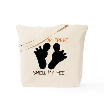 trick r treat smell my feet bag