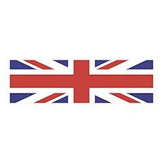 UNION JACK UK BRITISH FLAG 42x14 Wall Peel