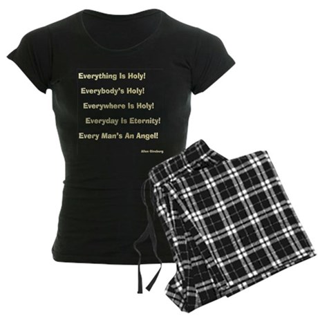 Allen Ginsberg Gifts Women's Dark Pajamas