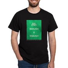 Enough Is Enough var Bike Dark T-Shirt