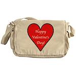 Valentine's Day Heart Messenger Bag
