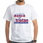 DWTS Tristan Fan White T-Shirt