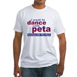 I Want to Dance with Peta Fitted T-Shirt