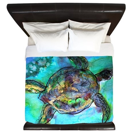 sea turtle bedding sea turtle wildlife king duvet by meowries 2136