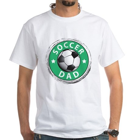 Soccer Dad White T-Shirt