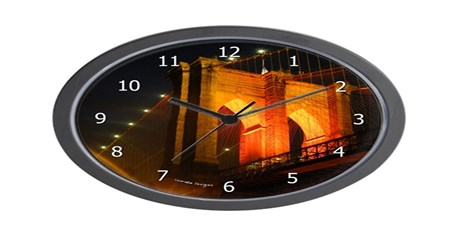 brooklyn bridge clock