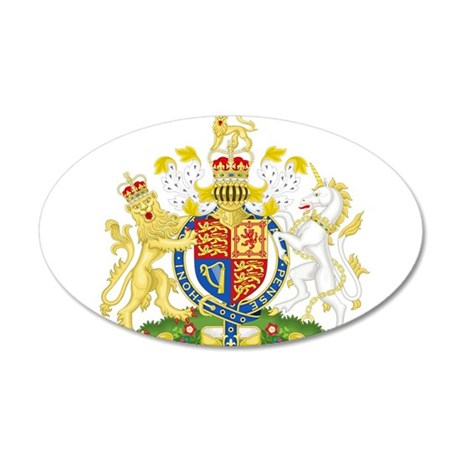 United Kingdom Coat Of Arms Wall Decal