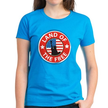 america land of the free t-shirt
