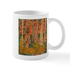 Orange Tangerine Trees Mug