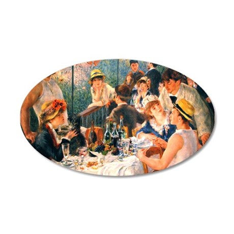Famous Paintings: Luncheon of The Boating Party 20