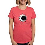 The World Ends... Womens Tri-blend T-Shirt