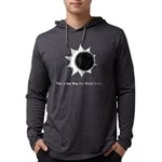 The World Ends... Mens Hooded Shirt