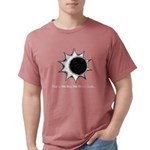 The World Ends... Mens Comfort Colors Shirt