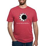 The World Ends... Mens Tri-blend T-Shirt