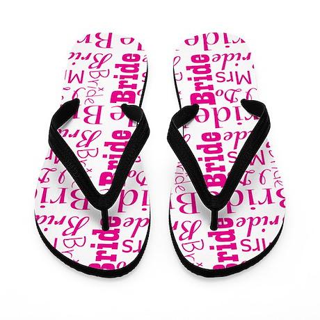 bride flip-flops