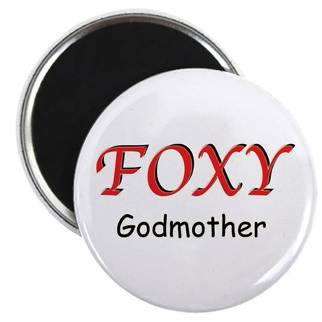 """Foxy Godmother 2.25"""" Magnet (10 pack)"""