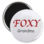 "Foxy Grandma 2.25"" Magnet (10 pack)"