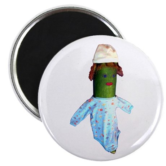 "Zucchini Baby 2.25"" Magnet (10 pack)"