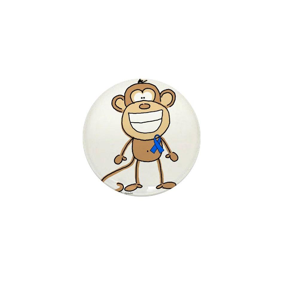 blue ribbon monkey mini button 100 pack $ 94 99