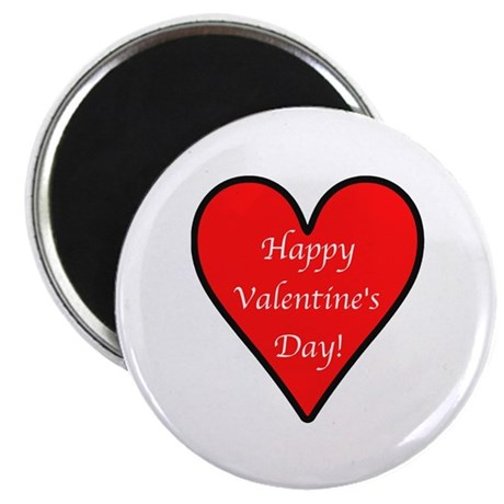 """Valentine's Day Heart 2.25"""" Magnet (100 pack)"""
