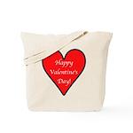 Valentine's Day Heart Tote Bag