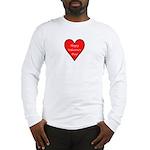 Valentine's Day Heart Long Sleeve T-Shirt