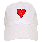 Valentine's Day Heart Cap