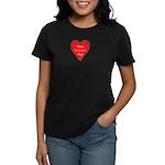 Valentine's Day Heart Women's Dark T-Shirt
