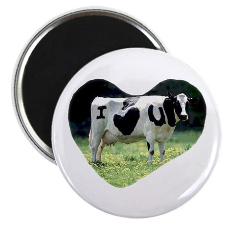 """I Love You Cow 2.25"""" Magnet (10 pack)"""