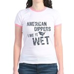 American Dippers Like It Wet Jr. Ringer T-Shirt