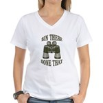 Bin There Done That Women's V-Neck T-Shirt