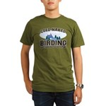 Coed Naked Birding Organic Men's T-Shirt (dark)